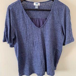 5/$20 Slightly cropped, oversized, t-shirt